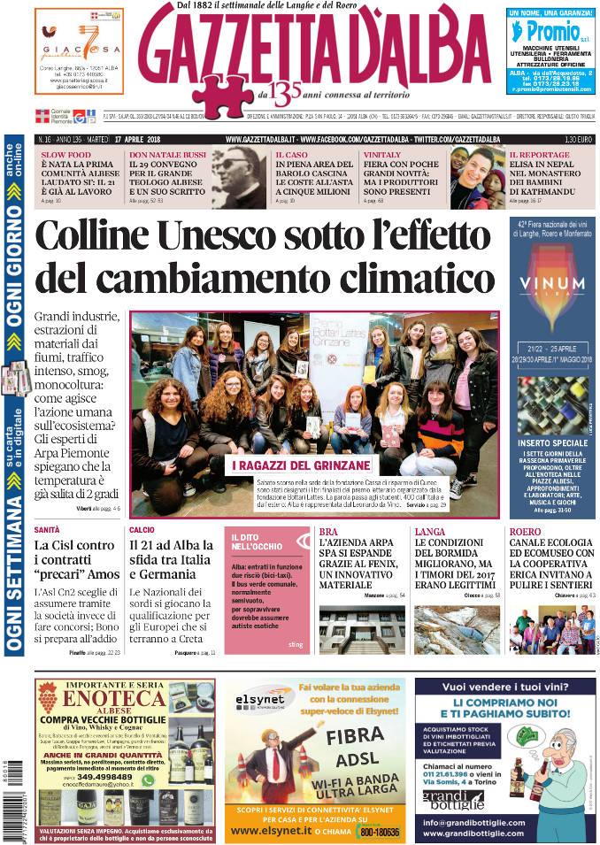 Prima_pagina_Gazzetta_dAlba_n_16-2018