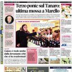 La copertina di Gazzetta in edicola martedì 24 aprile