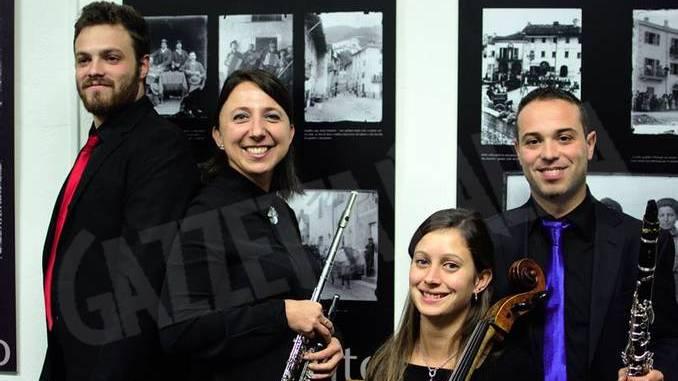 Il Quhartetto sabato sera a Sommariva Perno tra musica, poesia e foto