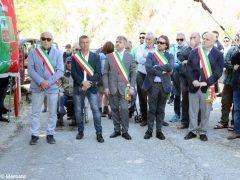 Partecipata cerimonia il raduno partigiano a Valdivilla per il 25 aprile. Le foto