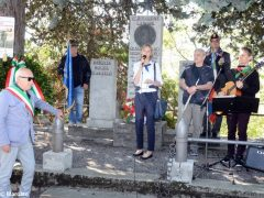 Partecipata cerimonia il raduno partigiano a Valdivilla per il 25 aprile. Le foto 7