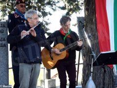 Partecipata cerimonia il raduno partigiano a Valdivilla per il 25 aprile. Le foto 1