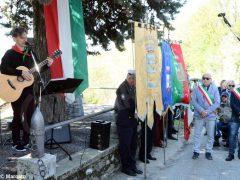 Partecipata cerimonia il raduno partigiano a Valdivilla per il 25 aprile. Le foto 2