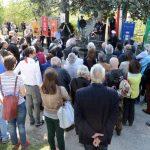 Le foto del raduno partigiano a Valdivilla per il 25 aprile