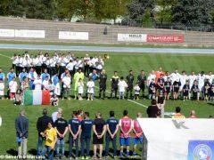 Calcio: nella partita delle nazionali sordi vince la Germania per 4-2 11