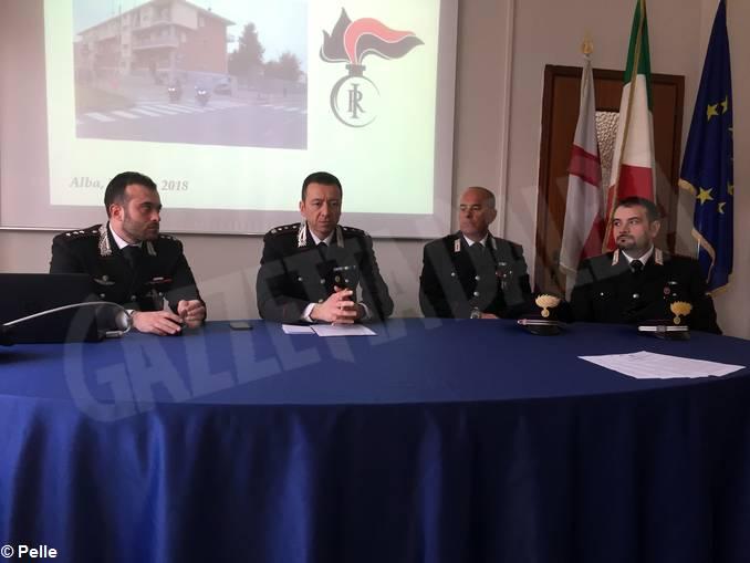 colonnello Marco Pettinato secondo da sin