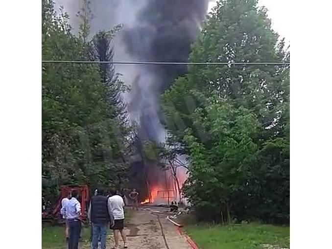 Grosso incendio, senza feriti, presso un vivaio di Roddi 1