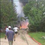 Grosso incendio, senza feriti, presso un vivaio di Roddi. Il video