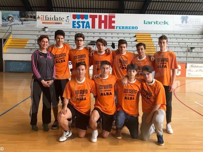 Studenteschi di pallavolo: il liceo Cocito di Alba vince la fase provinciale femminile 1