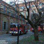 Incendio all'ospedale Santo Spirito di Bra