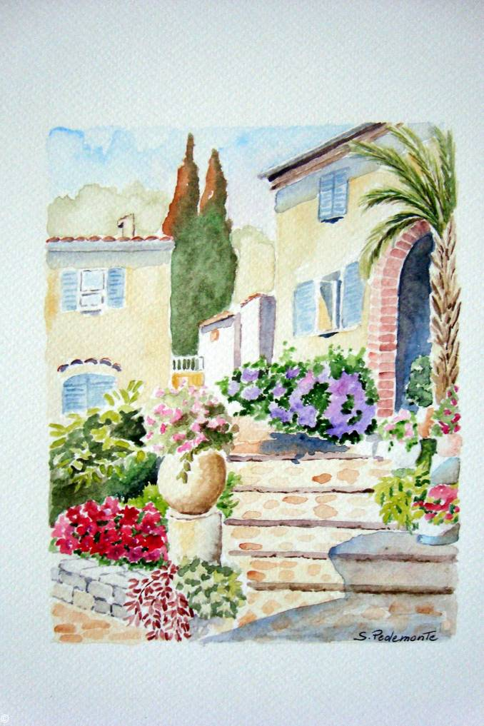 quadro Pedemonte mostra Bottegaccia 2