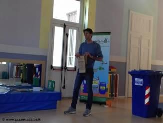 Alba: lezione di ecologia alla scuola dell'infanzia Maria Ausiliatrice