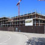 Marciapiedi e 29 parcheggi per la nuova scuola media della Moretta
