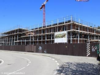 Alba: procedono i lavori per la realizzazione della scuola della Moretta