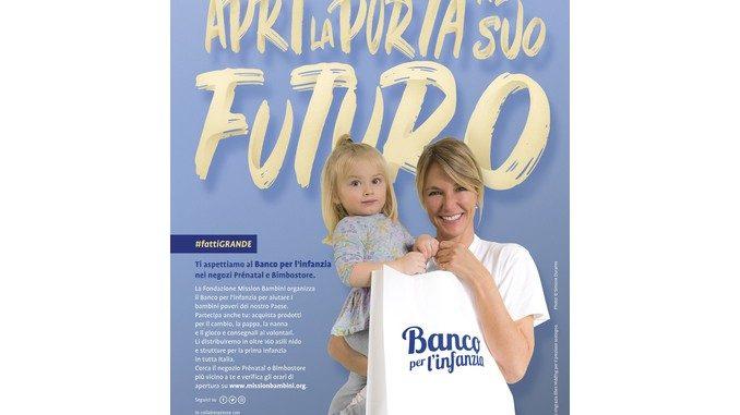 Banco per l'infanzia, un aiuto concreto  per i bambini in difficoltà