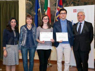"""Studenti del liceo Govone premiati al concorso """"Diventiamo cittadini europei"""""""