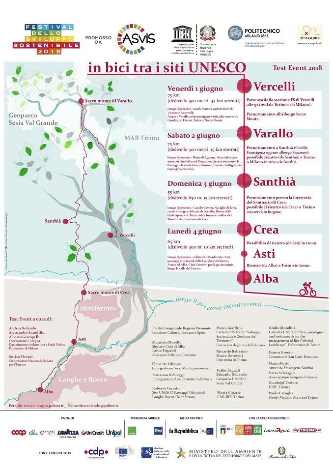 In bici tra i siti Unesco fa tappa anche ad Alba