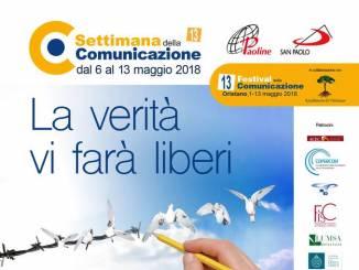 Settimana della comunicazione: appuntamenti a Oristano e Alba