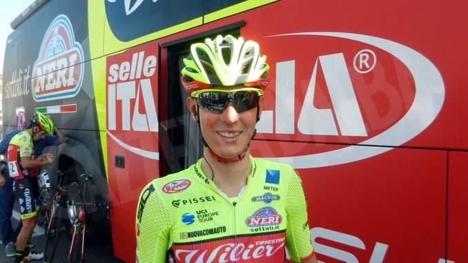 Massimo Rosa in gara al Giro di Corea