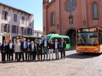 Presentati i nuovi mezzi per il trasporto urbano e la nuova linea per il carcere