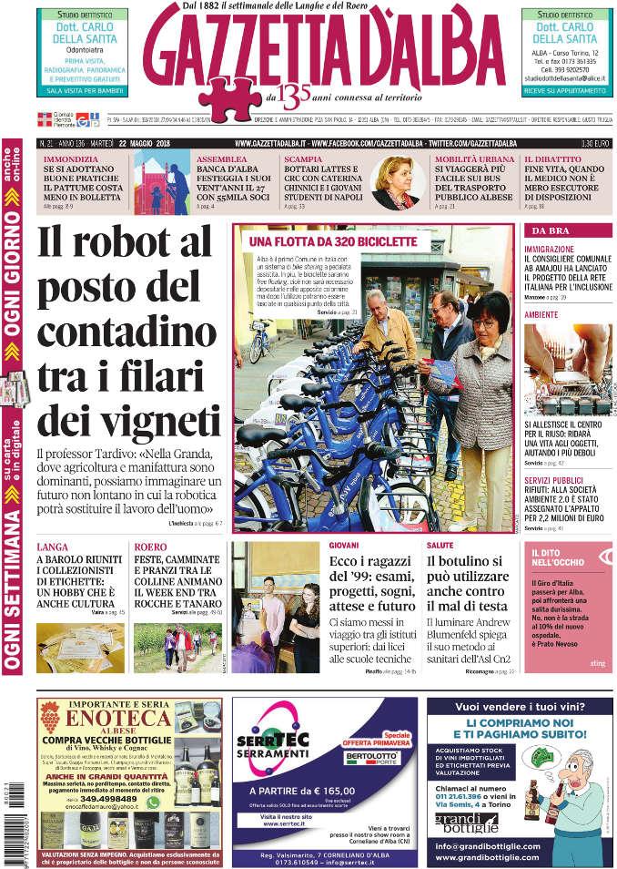 Prima_pagina_Gazzetta_Alba_21-2018