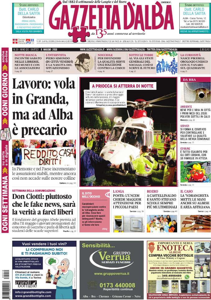 Prima_pagina_Gazzetta_dAlba_n_19-2018