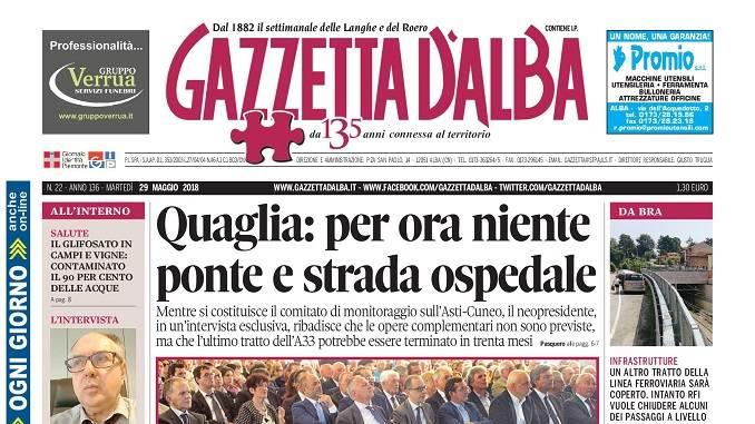 La copertina di Gazzetta in edicola martedì 29 maggio