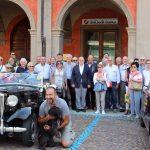 Il benvenuto del sindaco Marello al raduno delle auto e moto d'epoca