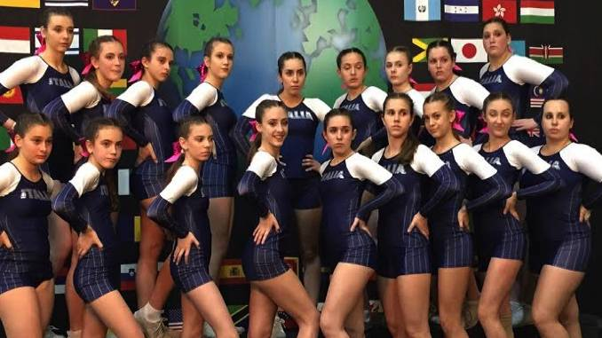 Con Alba Cheer l'Italia si classifica settimana al Mondiale