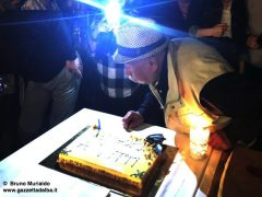 Famiglia e tanti amici per festeggiare il compleanno di Oreste Brezza 1