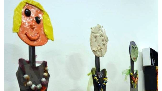 Mostra dei laboratori artistici rivolti ai ragazzi diversamente abili