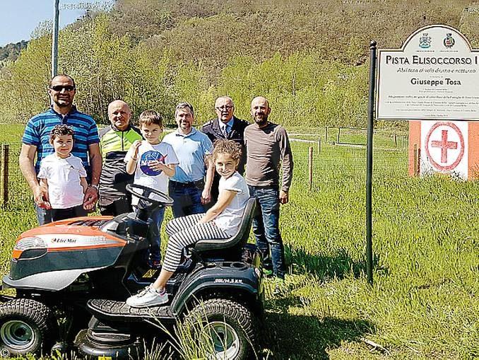 Elisoccorso: la gestione della pista ai Comuni di Cossano e Rocchetta