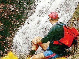L'amore di Dio è come l'acqua di una cascata