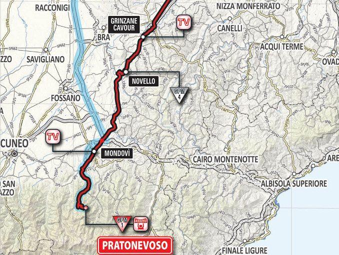 Scuole chiuse, giovedì 24, per il passaggio del Giro d'Italia 1