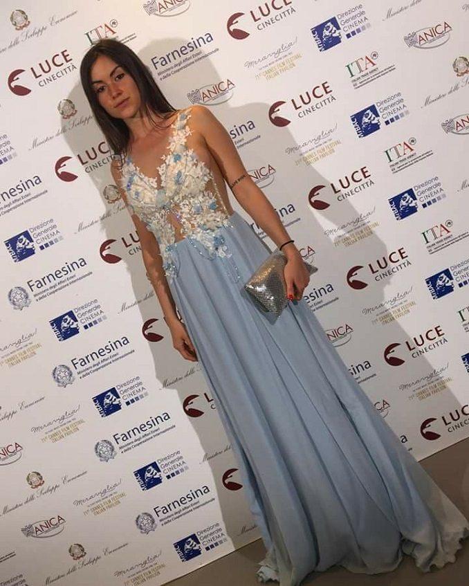 Dopo gli Oscar i vestiti della montatese Silvia Visca sfilano a Cannes