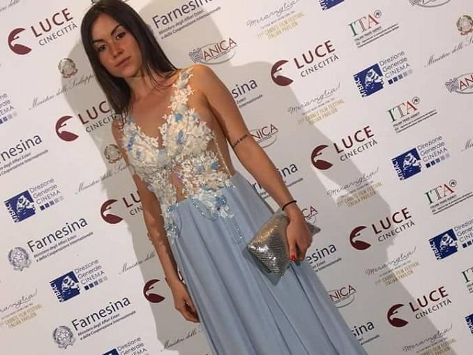 Dopo gli Oscar i vestiti della montatese Silvia Visca sfilano a Cannes 1