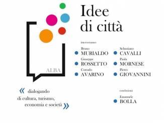"""Lunedì 28 maggio Alba 2019 promuove l'incontro """"Idee di città"""""""