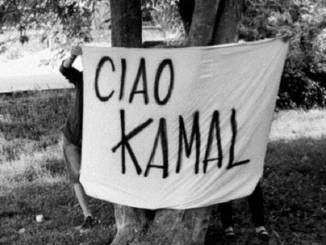 Il saluto del collettivo Mononoke a Kamal Berrichi