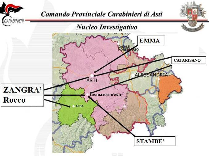 Risiedeva ad Alba il capo della cellula della Ndrangheta sgominata oggi 1