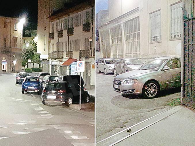 parcheggi incivili