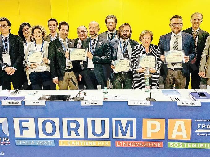 Premio innovazione: il Comune è secondo