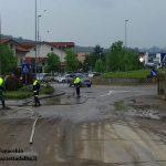 Bomba d'acqua: si fa la conta dei danni tra strade e locali allagati