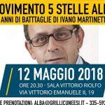 Martinetti (M5s) traccia il bilancio di 4 anni nel consiglio albese