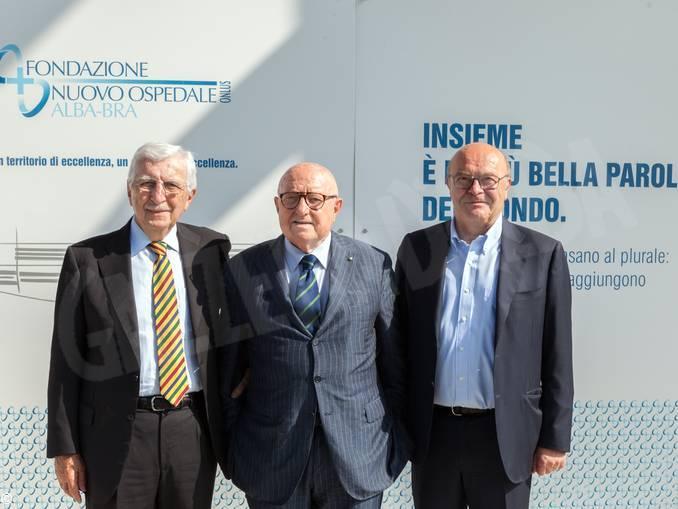 Bruno Ceretto ora è il presidente della fondazione Nuovo Ospedale