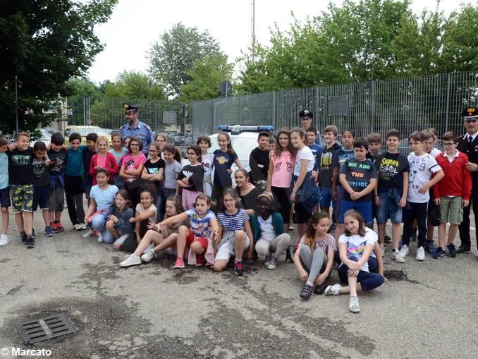 Carabinieri studenti scuola media Vida (5)