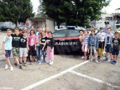 Gli studenti di Alba in visita alla caserma dei Carabinieri 7