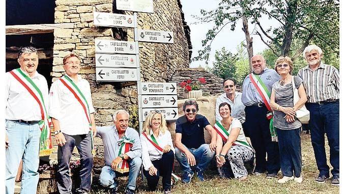 I nove Castelletto piemontesi hanno siglato un accordo in campo turistico