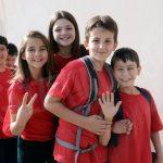 Per gli alunni della Coppino un arcobaleno di sport. Ecco le foto della festa