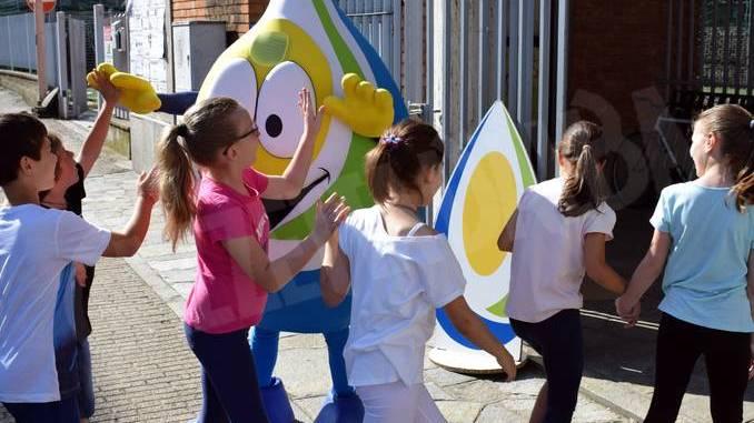 Oltre mille bambini alla Festa delle buone energie di Egea 2