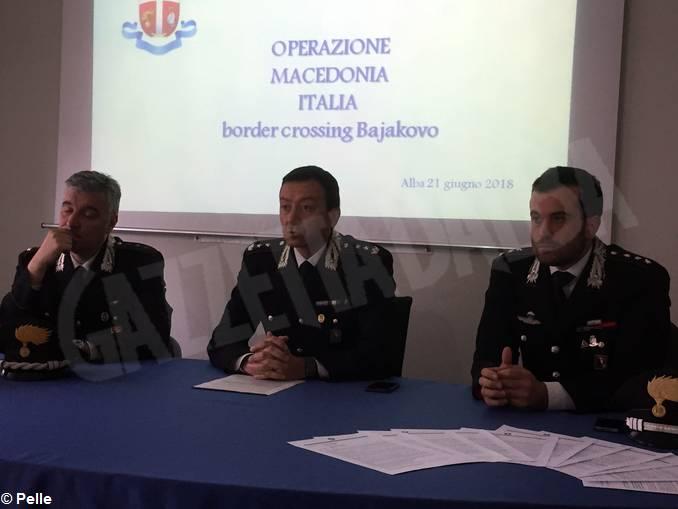 Macedonia operazione cc alba
